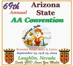 2019 69th Annual Arizona State AA Convention - Complete Flash Drive