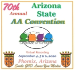 2020 70th Annual Arizona State AA Convention - Complete Flash Drive