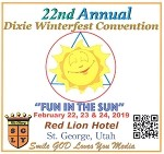 22nd Annual Dixie Winterfest Convention Flash Drive
